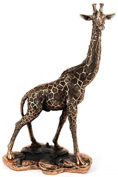 """Статуэтка """"Жираф"""" 37 см CLASSIC ART"""