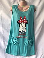 Ночная рубашка женская (44-52) оптом купить от склада 7 км Одесса