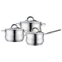 Набор посуды из нержавеющей стали 6 предметов Krauff 26-242-041