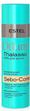 Минеральный бальзам для волос, себорегулирующий  Estel Professional Otium Thalasso Sebo-Control, 200 мл.