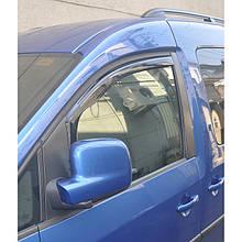 Дефлекторы окон (ветровики) Citroen  Berlingo II /Partner 2008-2020 ( Вставные под уплотнитель) 2шт (HIC)