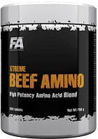 Аминокислоты Fitness Authority Xtreme Beef Amino  600tabl