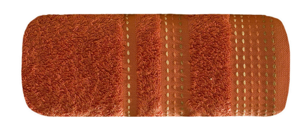 Полотенце Банное Pola 04 500 г/м² Eurofirany 2217  30x50 см Оранжевое