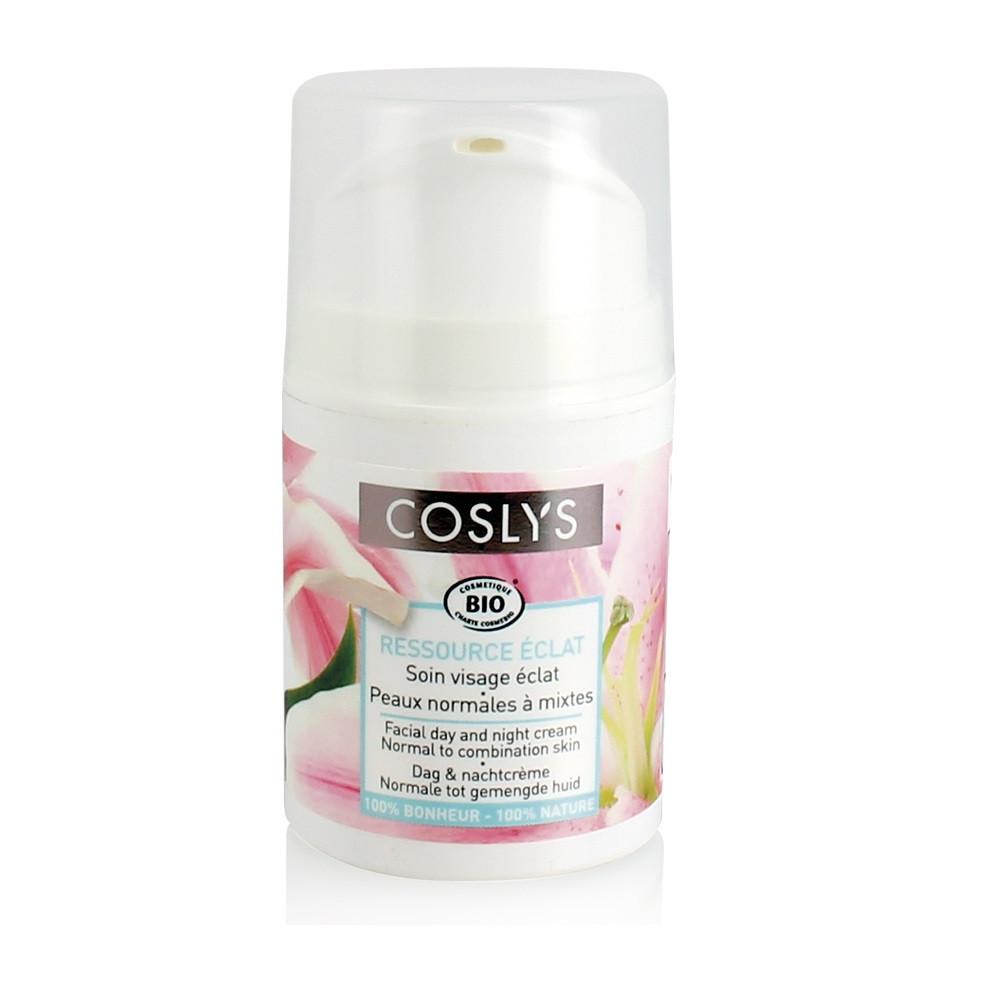 Крем для нормальной и комбинированной кожи лица дневной и ночной Coslys,50 мл