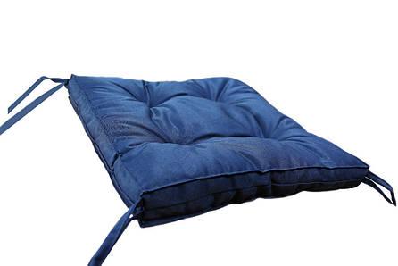 Подушка на стул DOTINEM COLOR синяя 40х40 см (213109-2), фото 2