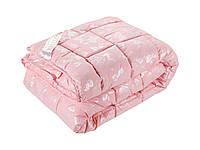 Одеяло DOTINEM ROSALIE искусственный лебяжий пух 175х210 см розовое (211132-3)