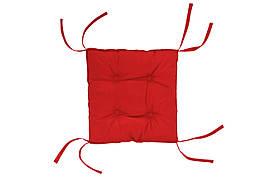 Подушка на стілець DOTINEM COLOR червона 40х40 см (213109-4)