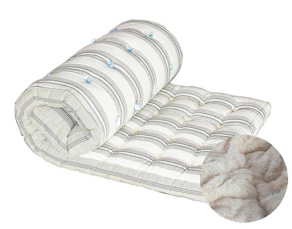 Ватний матрац DOTINEM Тік наповнювач бавовняна вата полуторний 120х190 (212490), фото 2