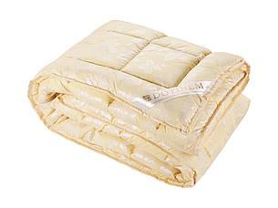 Одеяло DOTINEM ROSALIE искусственный лебяжий пух 175х210 см желтое (211132-1), фото 2