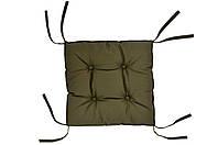 Подушка на стул DOTINEM COLOR хаки 40х40 см (213109-5)