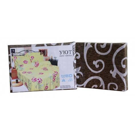 Комплект постельного белья Уют полиэстер евро 210х220 (210855-3), фото 2