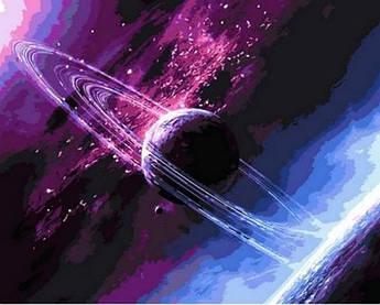 Картина по номерам Сквозь вселенную, 40x50 см Mariposa