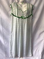 Ночная рубашка женская БАТАЛ (52-56) оптом купить от склада 7 км Одесса