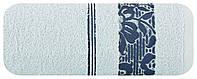 Полотенце Банное 15 500 г/м² Eurofirany 4528  50x90 см Синее, фото 1