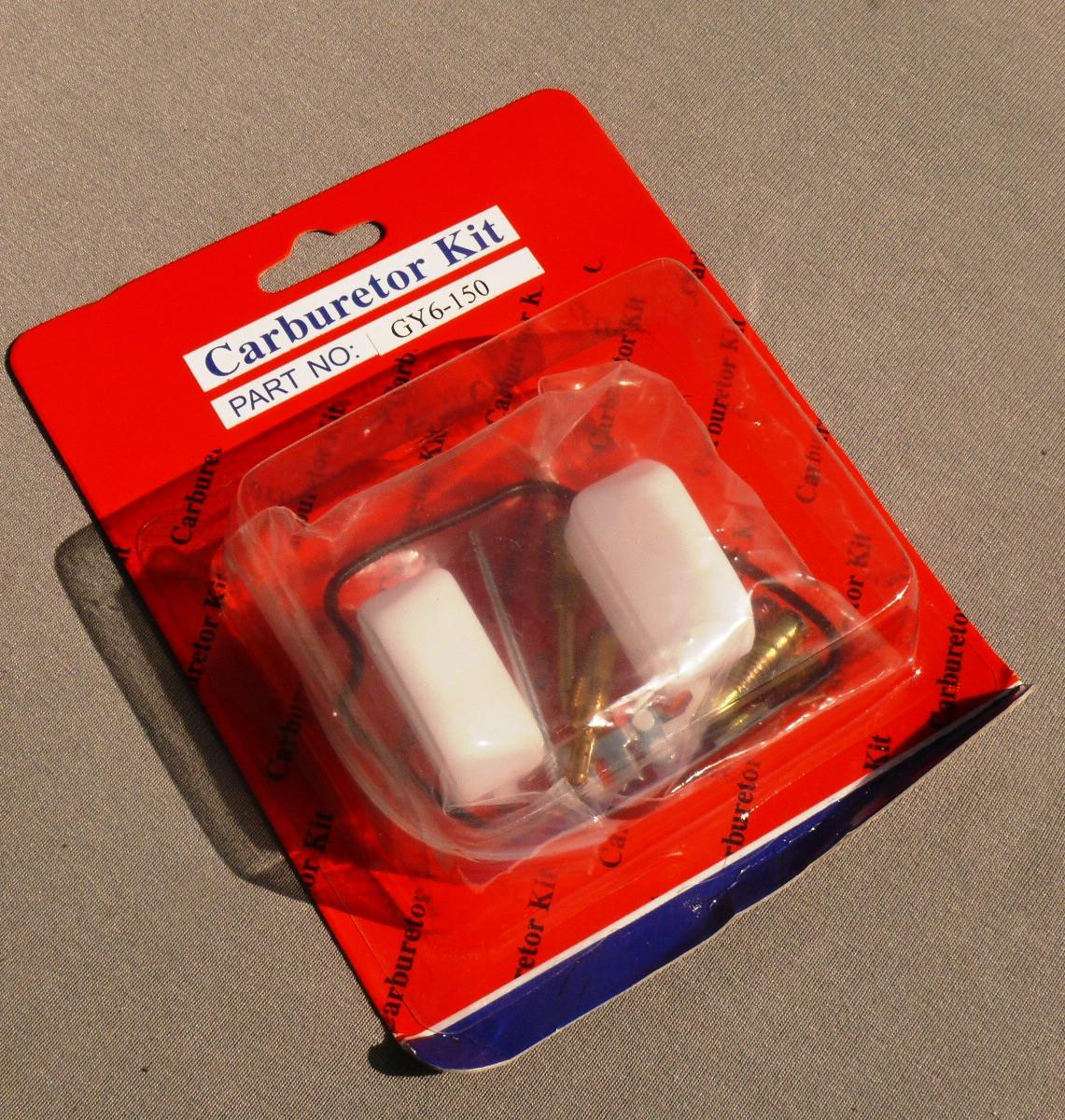Рем. комплект карбюратора GY6-150 без мембраны