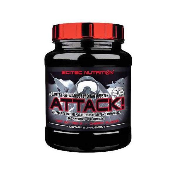 Предтренировочный комплекс Attack 2.0 (320 g) Scitec Nutrition