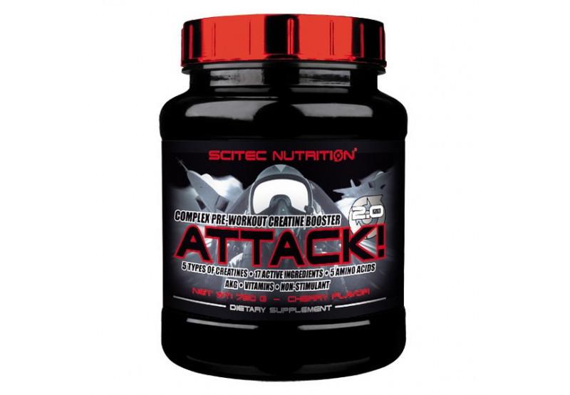 Предтренировочный комплекс Attack 2.0 (720 g) Scitec Nutrition