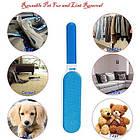 Щетка для уборки шерсти домашних животных FUR WIZARD + Перчатка True Touch в Подарок! Самоочистка, фото 5