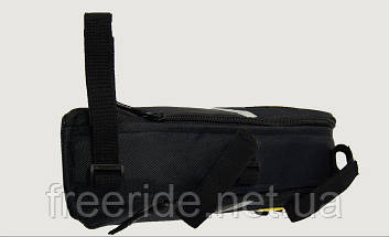 Велосумка YANHO, треугольный сумка под раму (черная), фото 2