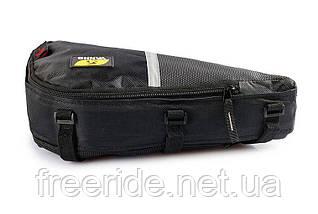 Велосумка YANHO, трикутний сумка під раму (чорна), фото 3
