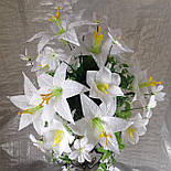 Лилии подвесные  с росой 80 см, фото 2