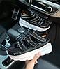 """Женские сандали Versace Chain React Sandals """"Black"""" ( в стиле Версаче), фото 2"""