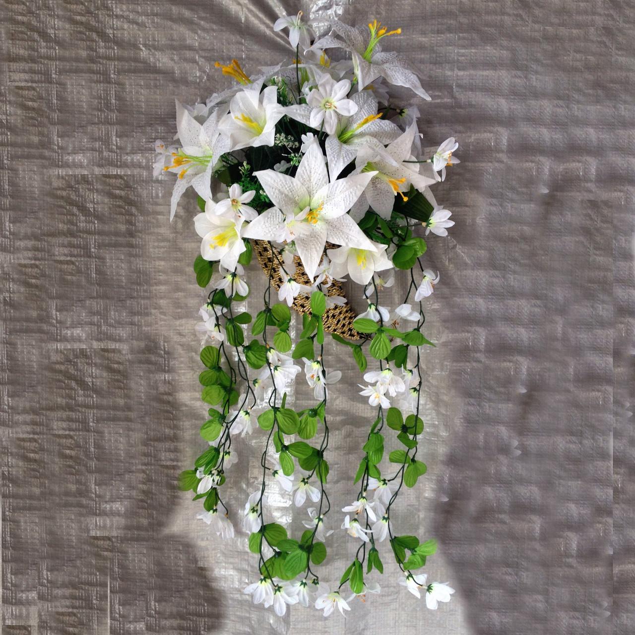 Лилии подвесные  с росой 80 см