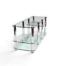 Тумба подставка из стекла ТВ под телевизор БЦ Стол Атлантик, фото 3