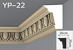 Карниз подкровельный фасадный YUM Decor YP-22