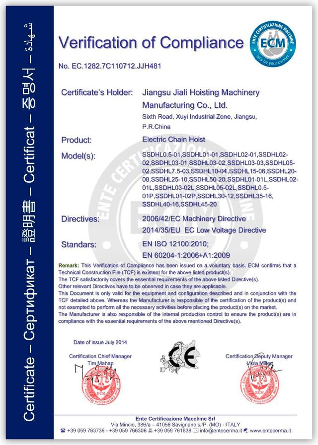 TXK сертификат