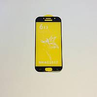 Защитное стекло Premium 6D для SAMSUNG A520 Galaxy A5 (2017) - черный