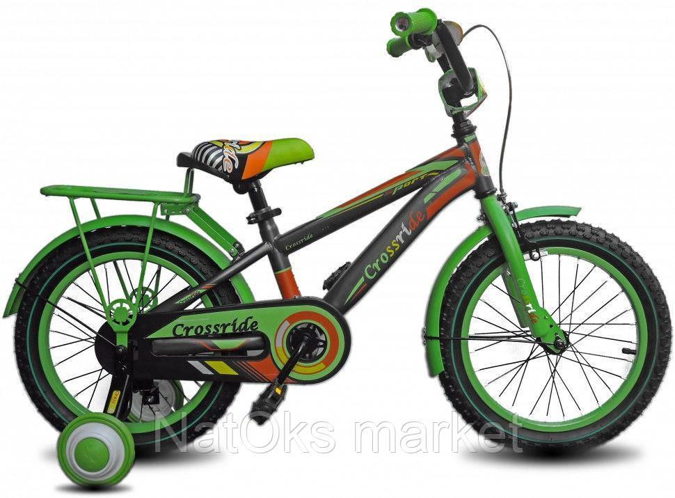 7bb7a923deeba4 Велосипед CROSSRIDE 16 BMX ST