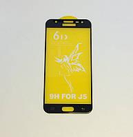 Защитное стекло Premium 6D для SAMSUNG J500 Galaxy J5 (2015) - черный