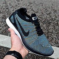 """Мужские кроссовки Nike Air Zoom Mariah Flyknit Racer """"Desert Moss"""" в сеточку. Живое фото (Реплика ААА+)"""