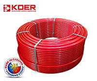 Труба для теплого пола Koer 16x2.0 PE-RT с кислородным барьером
