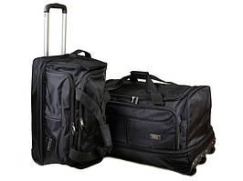 Комплект из двух дорожных сумок на колесах FILIPPINI 2/1 T0043 black