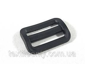 Перетяжка для сумок пластик цвет черный 30 мм