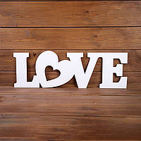 """Объемное слово """"LOVE"""" (арт. WD-70)"""