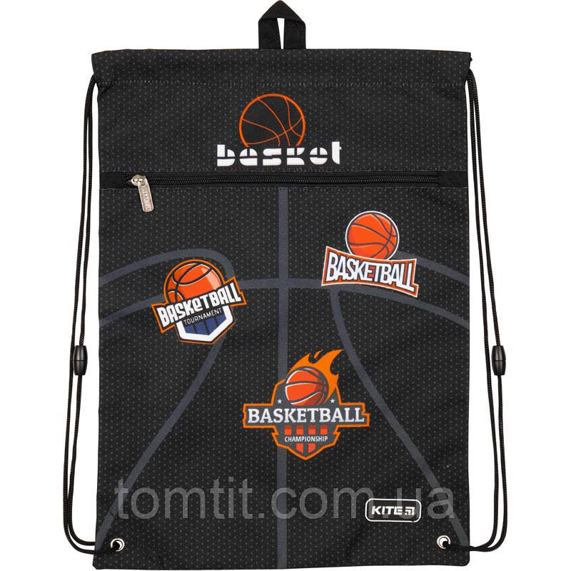 "Сумка для обуви с карманом Basketball K19-601M-14, ТМ ""Kite"""