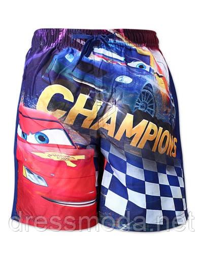 Пляжные шорты для мальчиков Cars 3-8 лет