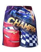 Пляжные шорты для мальчиков Cars 3-8 лет, фото 1