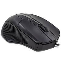 ✓ Мышь проводная Apedra M3 Black USB 1000 dpi для ноутбуков Пк компьютерная, фото 2