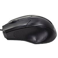 ✓ Мышь проводная Apedra M3 Black USB 1000 dpi для ноутбуков Пк компьютерная, фото 4