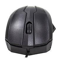 ✓ Мышь проводная Apedra M3 Black USB 1000 dpi для ноутбуков Пк компьютерная, фото 5