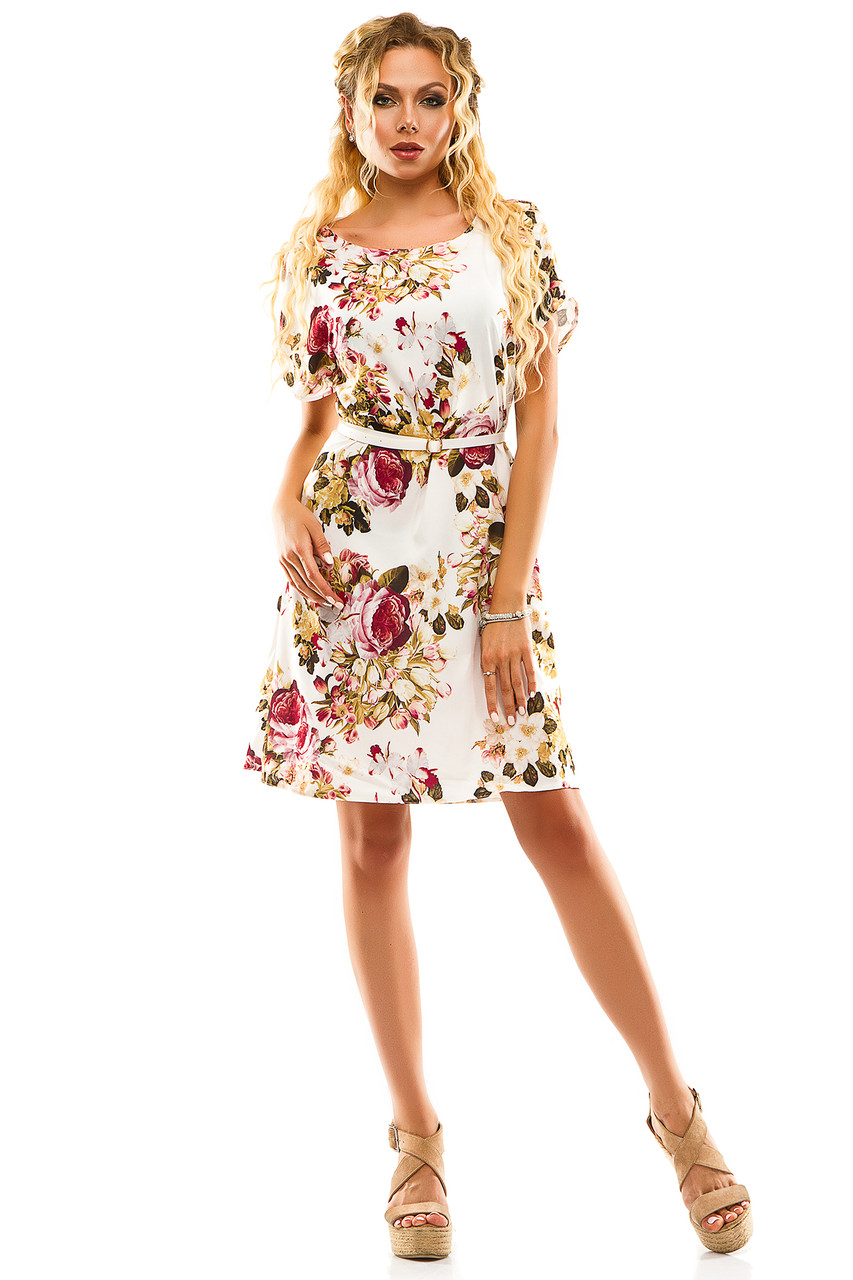 Платье 289  белое