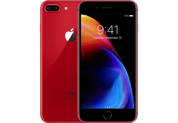 Смартфон Apple iPhone 8 Plus 64Gb Product Red Apple A11 Bionic 2675 мАч + чехол и стекло