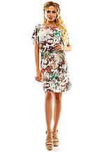 Платье 288 оливковая орхидея