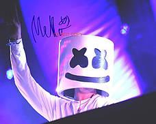 Маска маршмеллоу, Светодиодная маска DJ Marshmello., фото 3
