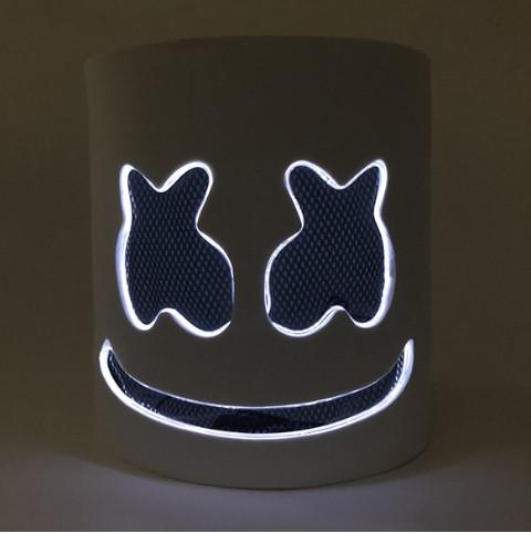 Маска маршмеллоу, Светодиодная маска DJ Marshmello.