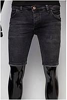 Шорты мужские джинсовые Jeckerson D33 2293 черные